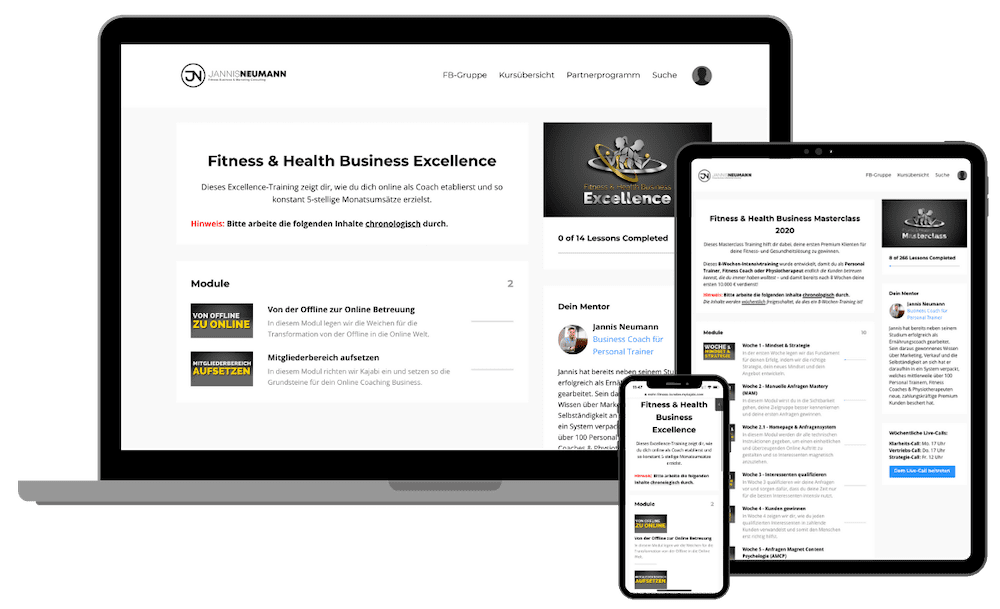 Fitness & Health Business Excellence